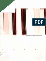 Clare Fischer - Harmonic Exercises for Piano