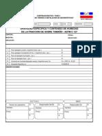 010 - Registro de Gravedad Especifica y Contenido de Humedad de La Fraccion Del Sobretamaño Astm