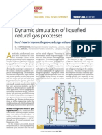 Dynamic Simulation LNG Processes