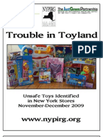 New York Unsafe Toys 2009
