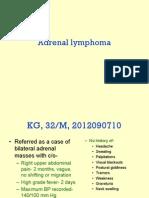 Adrenal Lymphoma
