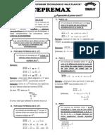 CEPREMAX - Aritmética Semana 07 _(Criterios de Divisibilidad_)