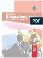 Buku Pegangan Guru Bahasa Indonesia SMA Kelas 11 Kurikulum 2013