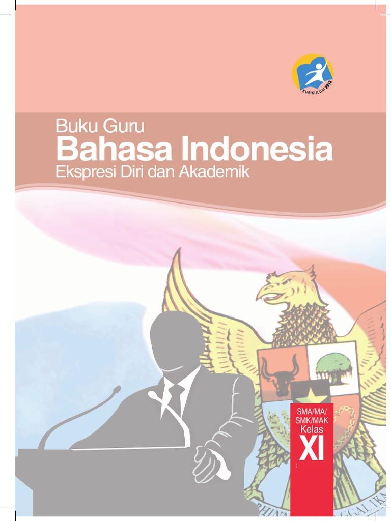 Buku Pegangan Guru Bahasa Indonesia SMA Kelas 11 Kurikulum ...
