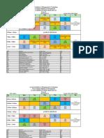 Class Schedule Ist Term IVth Term WEF 12 August 2014