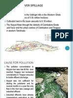 The Noyyal River Spillage