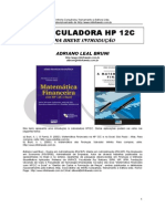 calculadora HP12 financeira