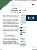Cách Cài Đặt Sử Dụng IIS Live Smooth Streaming « DR