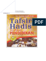 tugas HADIS TARBYAH