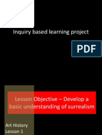 inquiry based lesson 1