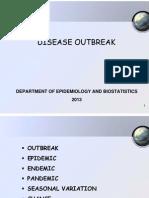7. Disease Outbreak 2013