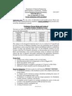 Mini Project in Process Equipment Design & Economics Course at IITB