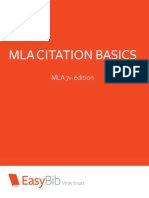 Basic MLA Citation