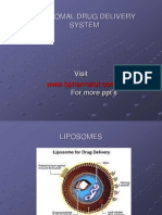57121745 Liposome Drug Delivery System