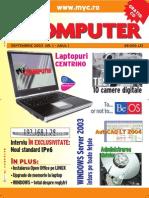Revista MyCOMPUTER nr. 1/2003
