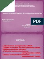 Tehnici Statistice Aplicate in Managementul Calitatii b9ffd