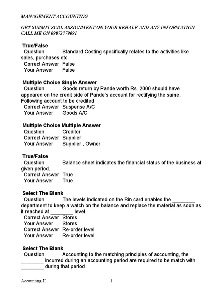 Management Accounting 3 | Debits And Credits | Financial