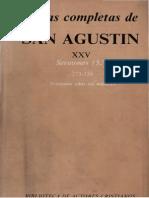 102060731 San Agustin XXV Sermones 5 273 338 Sobre Los Martires