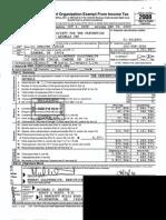 KCSPCA/FSAC 2008 IRS Form 990
