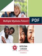 Myeloma Canada Patient Handbook -Feb.2012