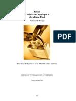 Le Reiki, Medecine Mystique Du Dr Mikao Usui MAJ 2009 - Tome 3