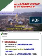 6443172 Rapport Ciments Annoce Sur Le Site de La Classe Www Lcfst c La