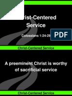 Christ Centered Service