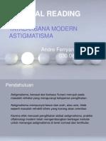 Tatalaksana Astigmatisma Modern