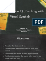 Lesson 13 Teaching with Visual symbols