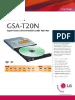 18255 Lg Gsa-t20n r1 Manual