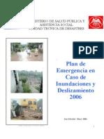 Plan de Emergencia Para Inundaciones