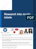 Media - Research Into Music Labels