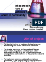 Intergrated Approach to Management of Patients