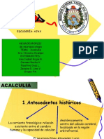 Presentacion de Acalculia Expo Sic Ion