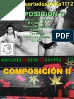 16. COMPOSICIÓN II (Regla de Los Tercios, Horizontes, Siluetas y Lineas) Curso 1112
