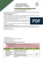 Plan Anual de Ciencias 1 2014-2015.