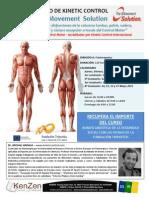 Curso de Kinetic Control para fisioterapeutas por Michal Hadala