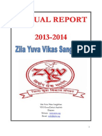 Final Annual Report ZYVS 2013-14