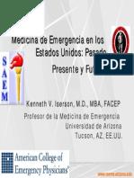 Emerg Med Past Present Future Spanish 1