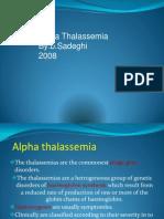 alpha thalasemia