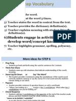 7 step vocabulary - template