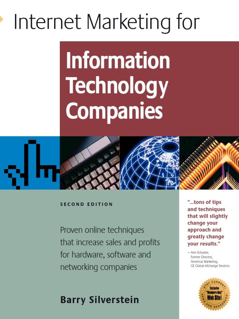 Barry Silverstein Internet Marketing for Information Technology ...