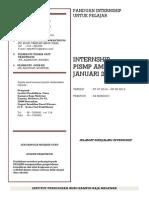 Cover Garis Panduan Pelaksanaan Internship - Pelajar