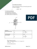 Ecuación Para La Operación de Hidratación Del Frejol