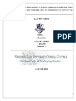 Law of Torts Project 2014 NLUO