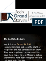 Gods Grand Story (the God Who Delivers)