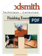 Woodsmith Finishing Essentials