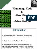 Hamming codes Presentation
