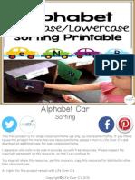 Alphabet Cars Sorting