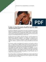 EE UU. La Histeria Del Abismo Fiscal, Manipulada Por Los Interesados Halcones Del Déficit